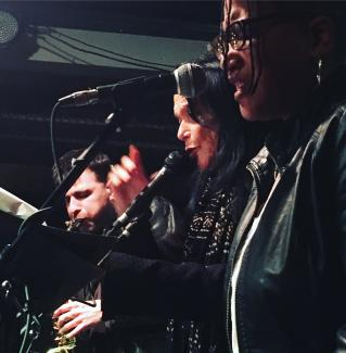 Anne Waldman and Fast Speaking Music, photo Megan Burns